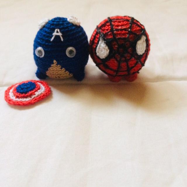 Spider-man toy crochet Amigurumi super hero gift for guy | Etsy | 640x640