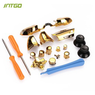 Gamepad Buttons Bumper Trigger Repair Replacement Parts +Tools For