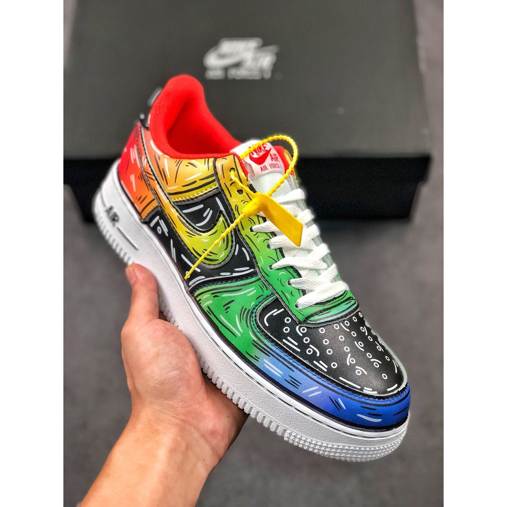 Estúpido carta Presentar  The highest quality spot original Nike Air Force 1 07 low-top Air Force One  casual sports shoes AQ4211 300 Size: 36-45 half yards | Shopee Philippines