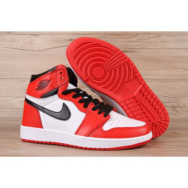 últimos lanzamientos despeje descubre las últimas tendencias NIKE AIR JORDAN 1 MID basketball shoes white black red | Shopee ...