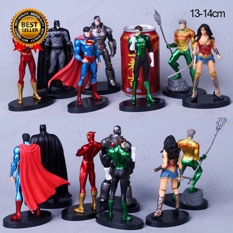 DC Comic Book Hero Justice League The Flash Action Figure Toy Gift 1##