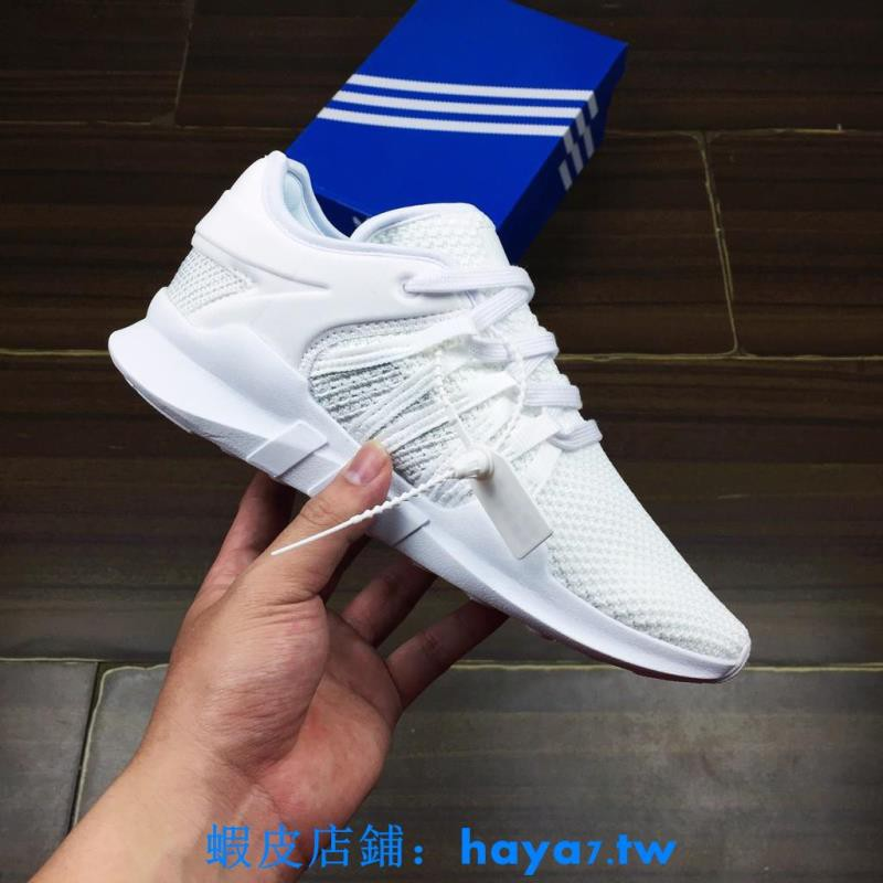 huge selection of 0550c 1c016 Adidas eqt Racing ADV EQT All white Men's and women's shoes