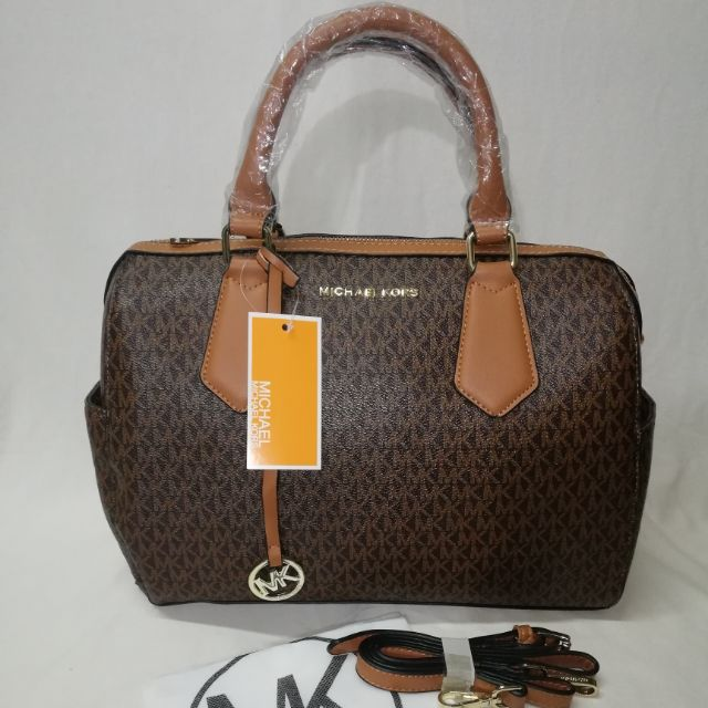 Mk Michael Kors Brown Doctors Bag