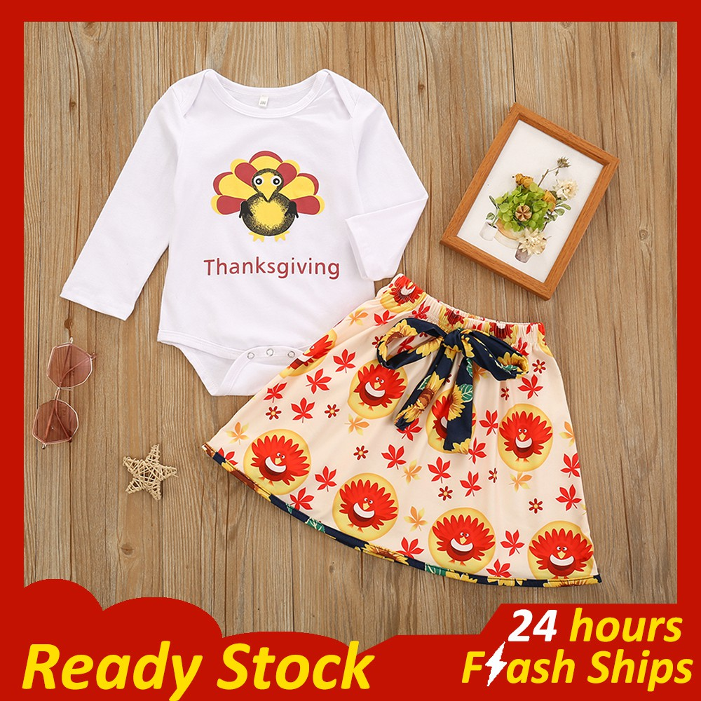 Anbaby Baby Girls Sweet Bow Printed Short Sleeve Cotton Romper