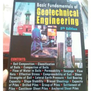 Geotechnical Engineering by Besavilla 5th Ed | Shopee Philippines