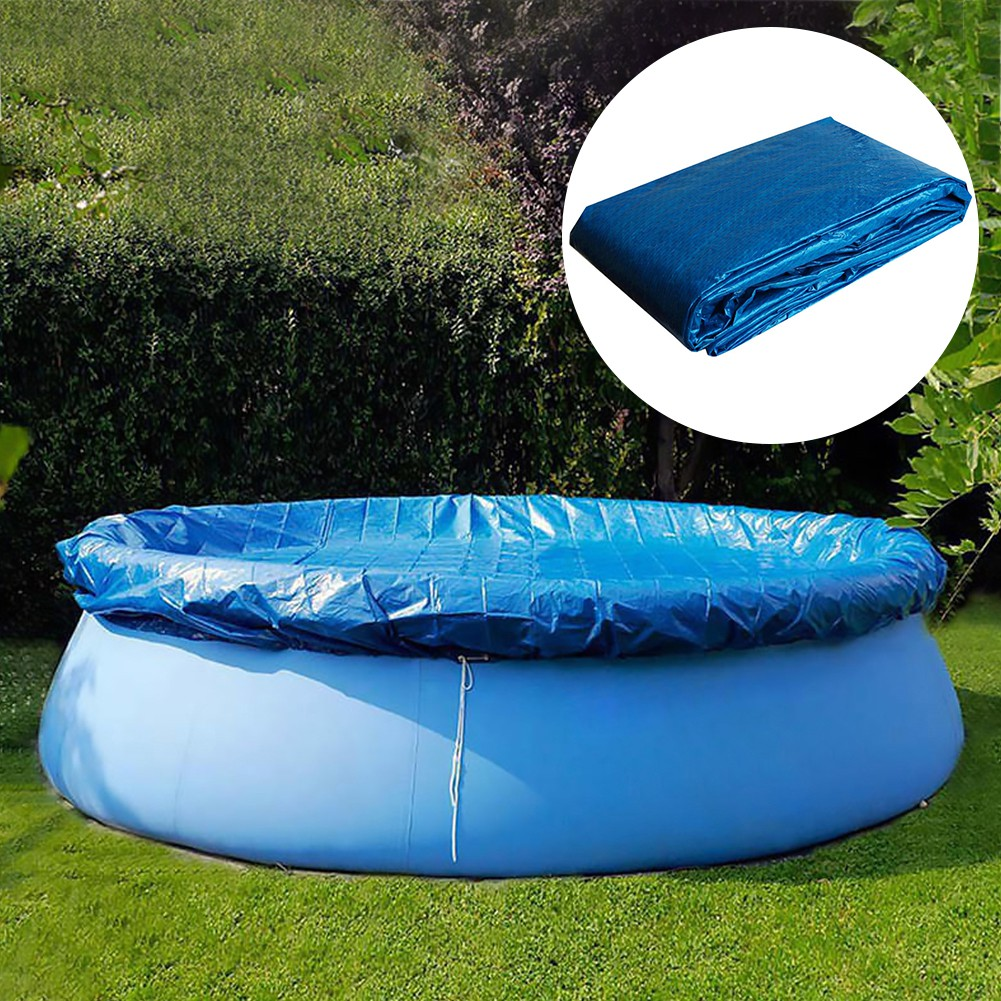 Swimming Pool Cover Dust