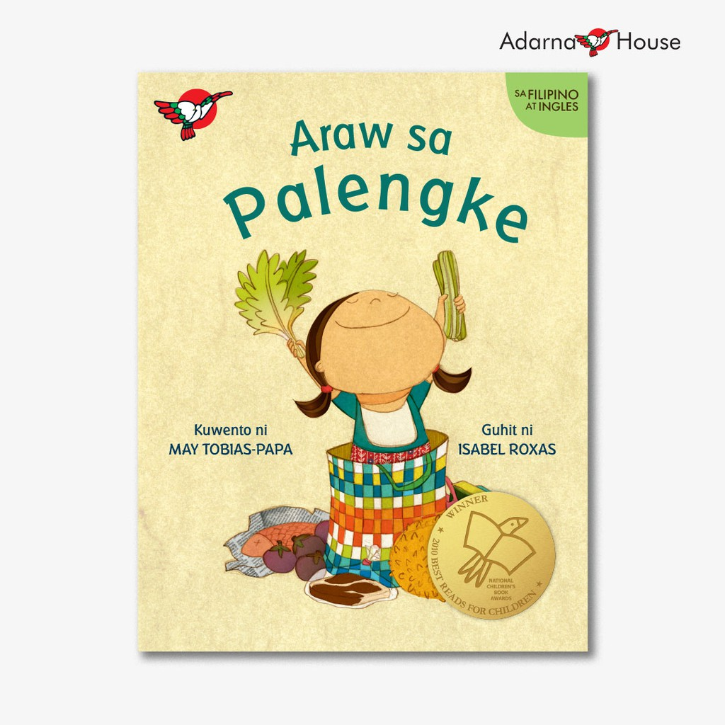 Araw sa Palengke Storybook - for Grade 1, Bilingual Filipino with English  Translation