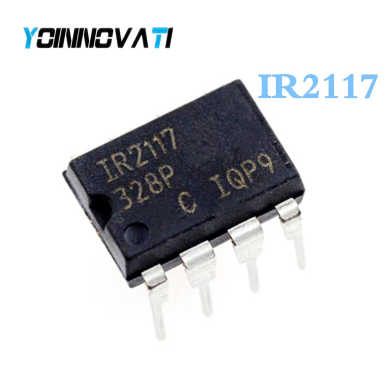 IR2117  INTEGRATED CIRCUIT  MOSFET DRIVER SGL-CH 8-DIP LOT OF2
