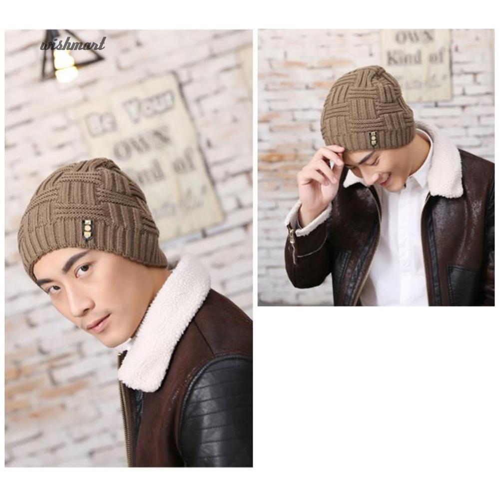 33932fdce2c ☀WISH Color Hip-Hop Winter Warm Baggy Beanie Unisex Hat