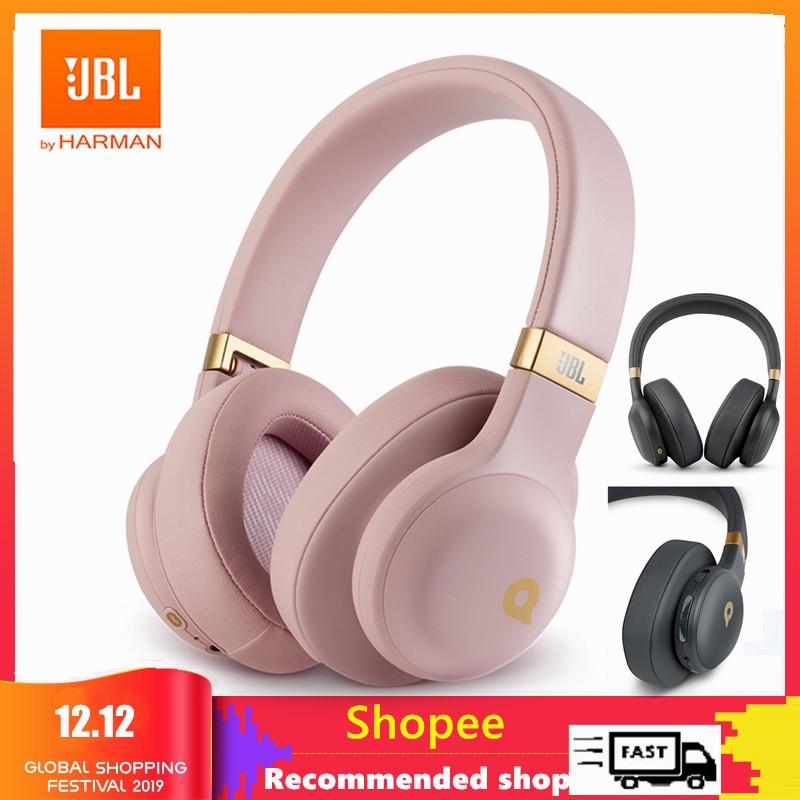 Jbl E55bt Quincy Edition Wireless Headphones Bluetooth Headset Sports Earphone Shopee Philippines