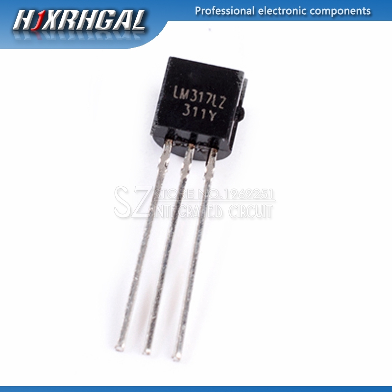 50PCS LM317L LM317LZ TO-92 LM317 Adjustable Regulator