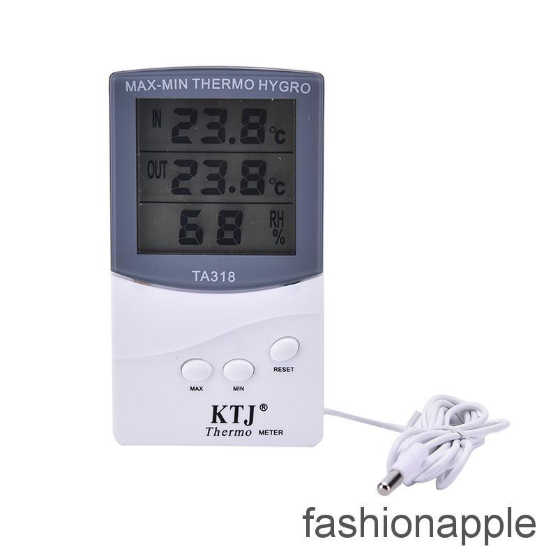 LCD Digital Thermometer Hygrometer Humidity Temperature Meter Indoor Home MA