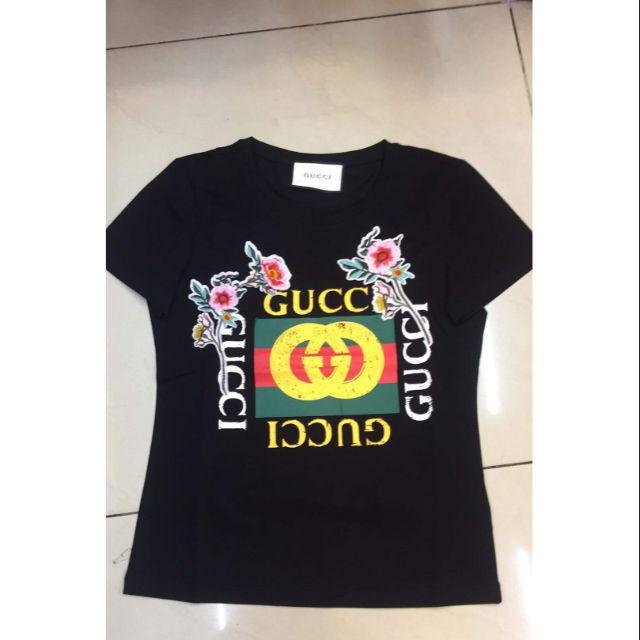 ba17598a Gucci Men's T-Shirt Guccification Il Prato Di Ganimede BS125 | Shopee  Philippines