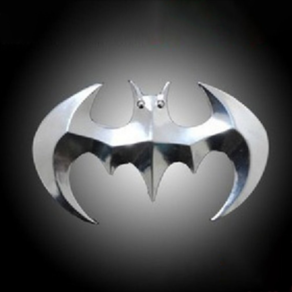Black 2x Batman Emblem Dark Knight Mask Auto Car Styling//Motorcycle Metal Badge Sticker Decoration,Fan