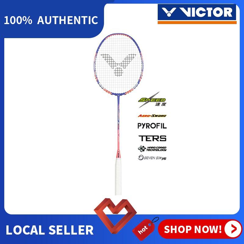 Victor JS 12F 4U Full Carbon Single Badminton Racket 26 ...