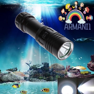 Ultra Bright 5000LM 3*XM-L2 Diving Flashlight LED Tactical Torch Underwater 100M