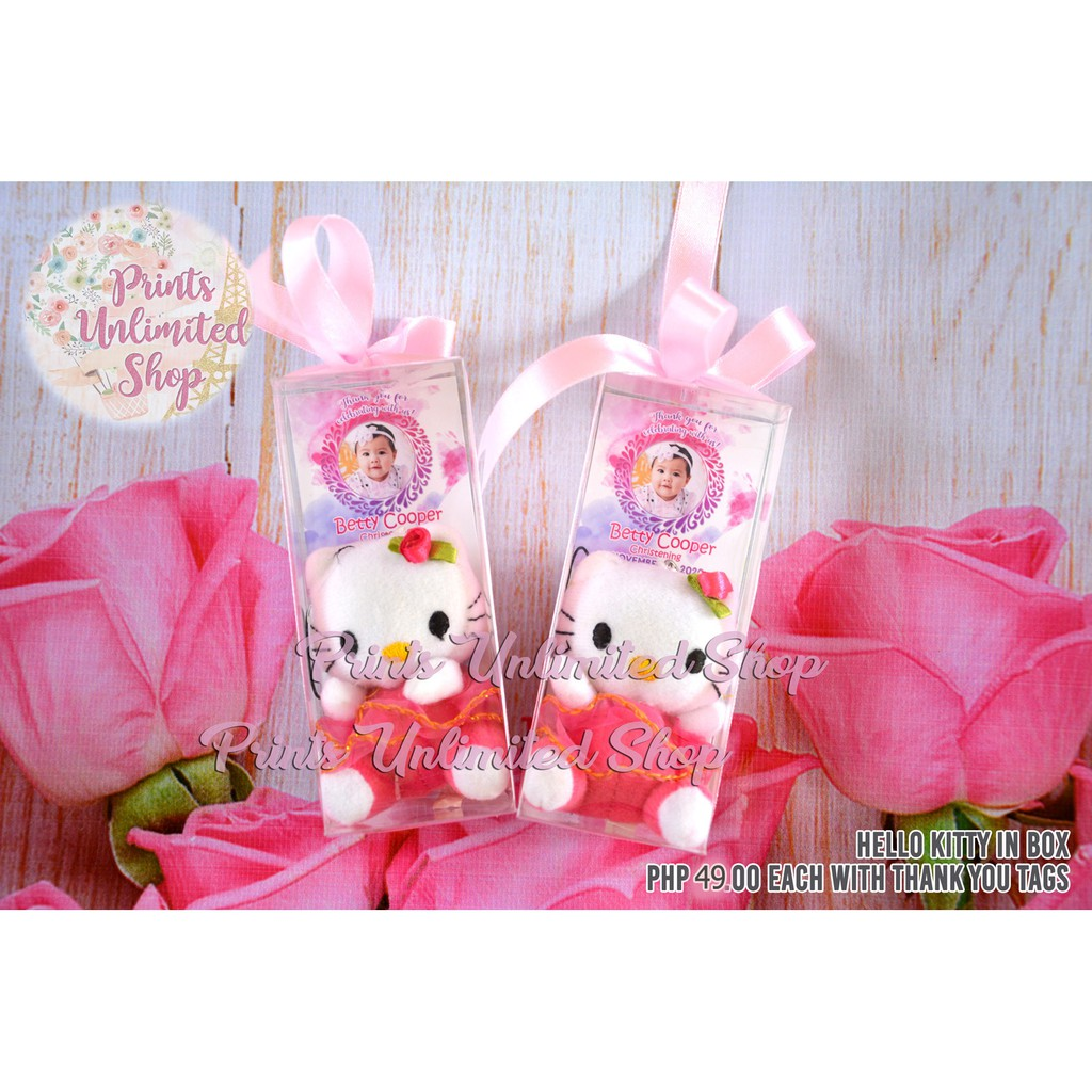 c1884339722b COD Hello Kitty Girl w  Box Christening Baptism Souvenirs