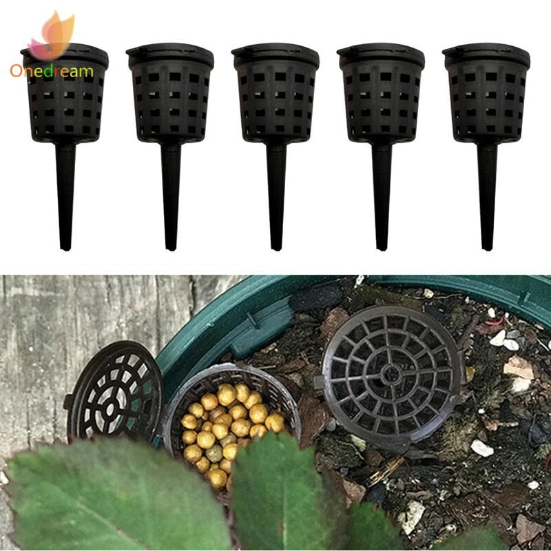 Details about  /10pcs Plastic Fertilizer Baskets Flowers Pots for Flower,Orchid,Bonsai,Vegetable