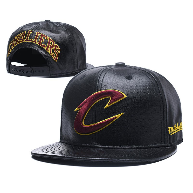 Cleveland Cavaliers Finals Mitchell   Ness Nba Retro Throwback Snapback Hat  Cap 0ef974ebcad