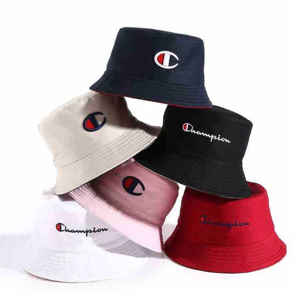 5f9c6664b Korean Tide Brand Bucket Cap Double-sided Cotton Sun Hat