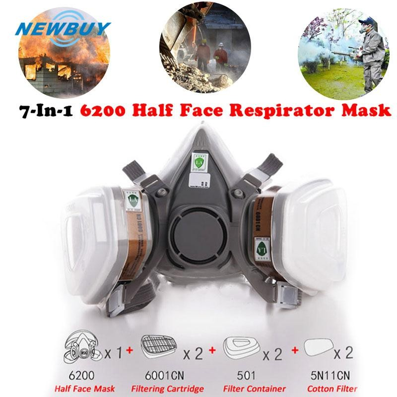 Cheap Price N3800 Anti-dust Facepiece Filter Paint Spraying Cartridge Respirator Gas Mask A Great Variety Of Models Back To Search Resultssecurity & Protection Fire Respirators
