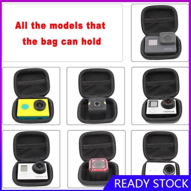 Portable Round Storage Hard Case Organizer Box for Gopro Hero 5S 4 Session
