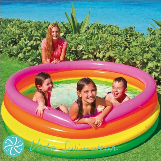 Intex Inflatable Pool 168CM BIG Kiddie Pool Swimming Pool