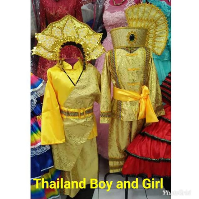 UNITED NATIONS THAILAND COSTUMES BOY / GIRL