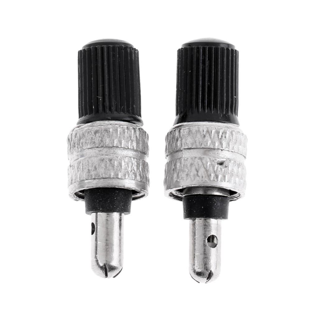 20Pc Tire Stem Valve Caps Aluminum Alloy High Pressure Cap for Presta Valves