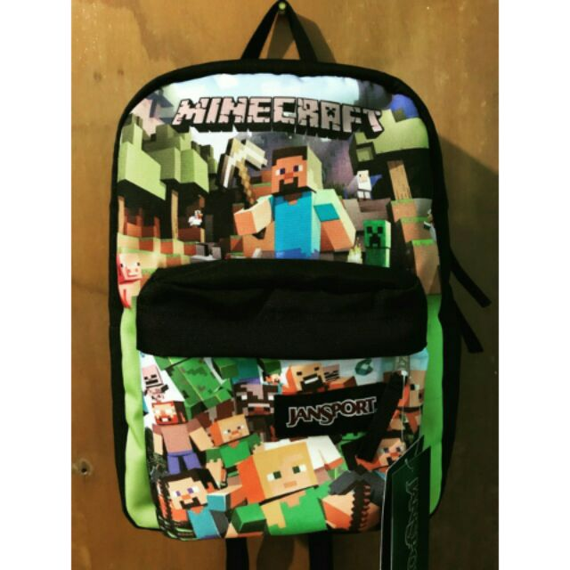 unparalleled on feet at the sale of shoes Jansport Minecraft (Backpack / Bookbag / Lunch Bag)