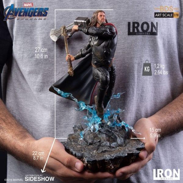 Thor with Weapons Pop Avengers 4: Endgame Vinyl Iron Studios Free Shipping!