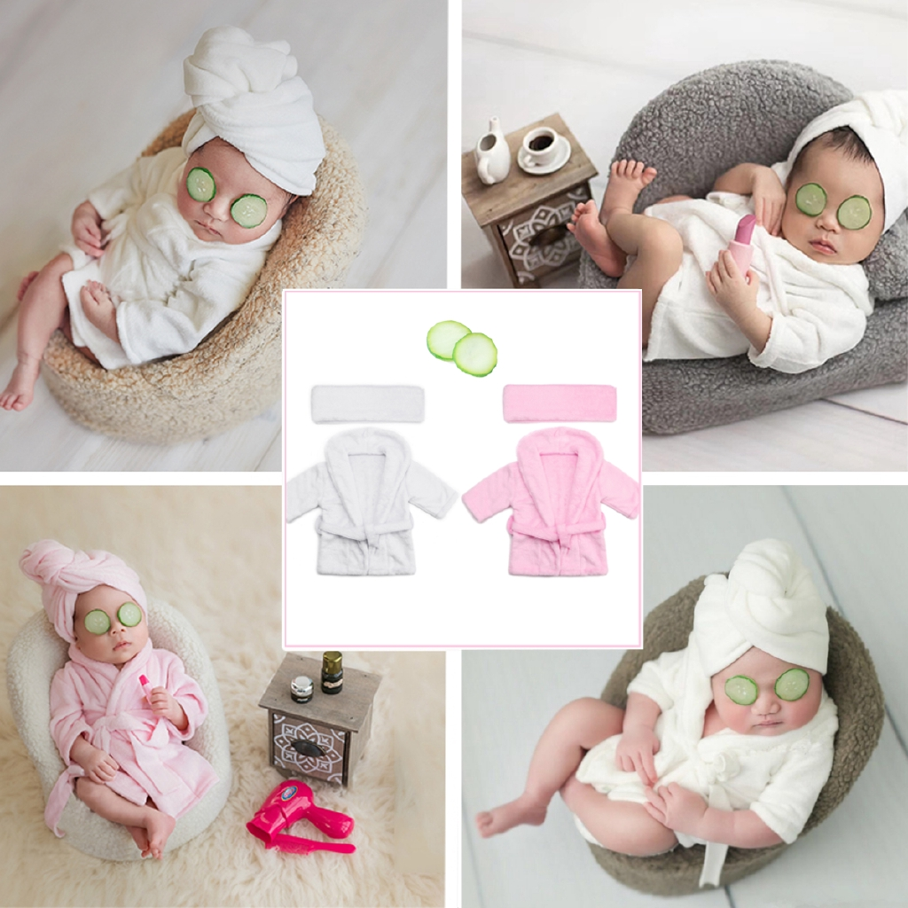 Ready Stock Newborn Baby Photography Prop Outfits Girls Boys Soft Costume Photo 0 6m Old Shopee Philippines