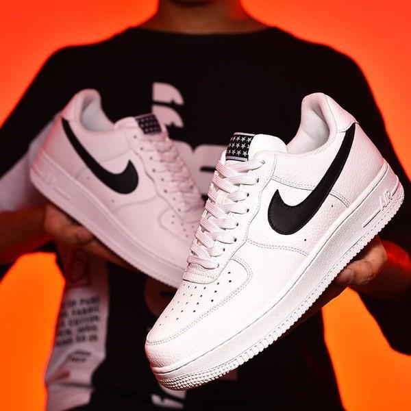Black AA4083 White Force Star 1 1 Air AF1 Force one Nike Air