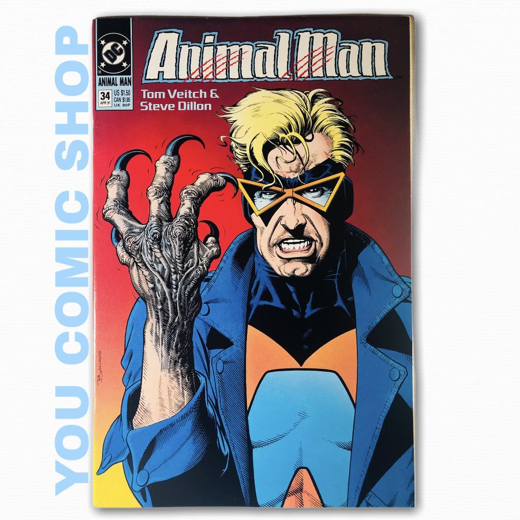 ANIMAL MAN VOL:1 #34