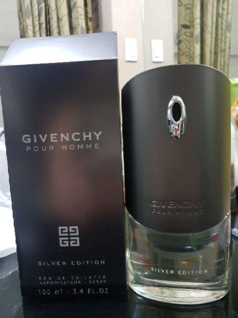 Givenchy Pour Homme Silver Edition For Men Pefume Shopee Philippines