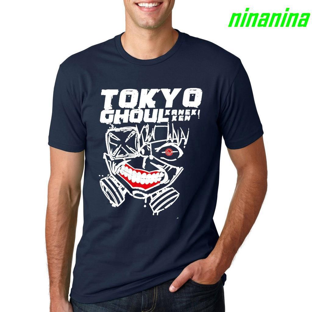 72ea66478 n! tshirt men top t shirt Anime Tokyo Ghoul Jin Muyan Printe | Shopee  Philippines