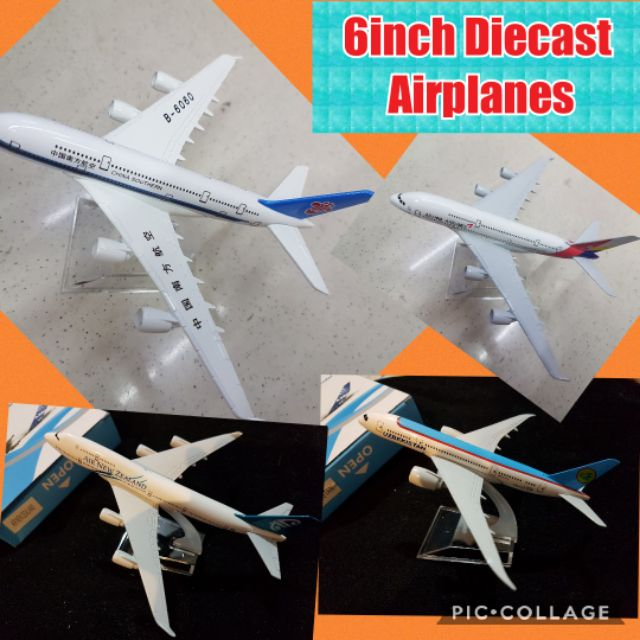 Diecast Metal Airplanes Different Airlines (List # 3)
