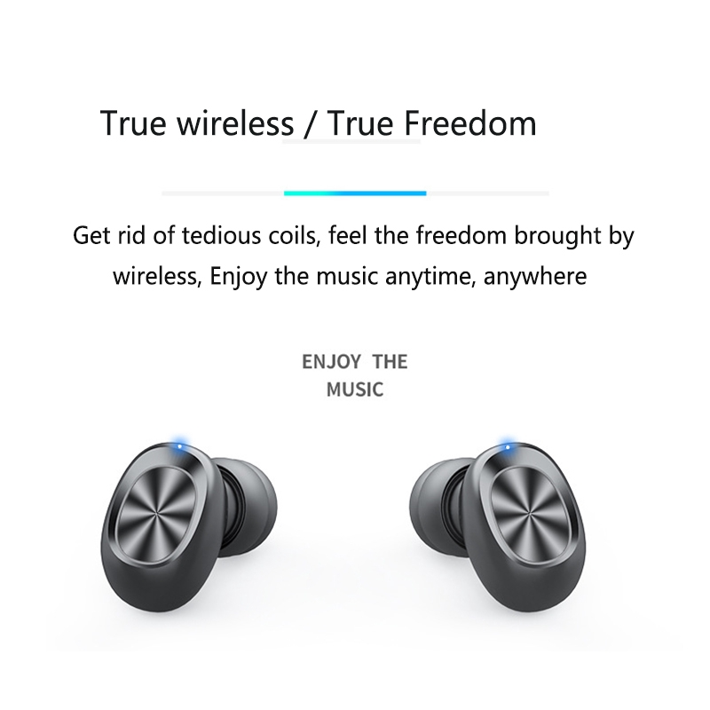 New B9 LED Display TWS Wireless Earbuds Bluetooth Earphones Touch Bass Bluetooth  Headphones with Mic   Shopee Philippines