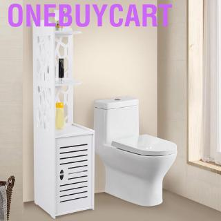 Onebuycart Estink Toilet Shelf 3 Tier Iron Construction Bathroom Storage Rack Over Co Shopee Philippines