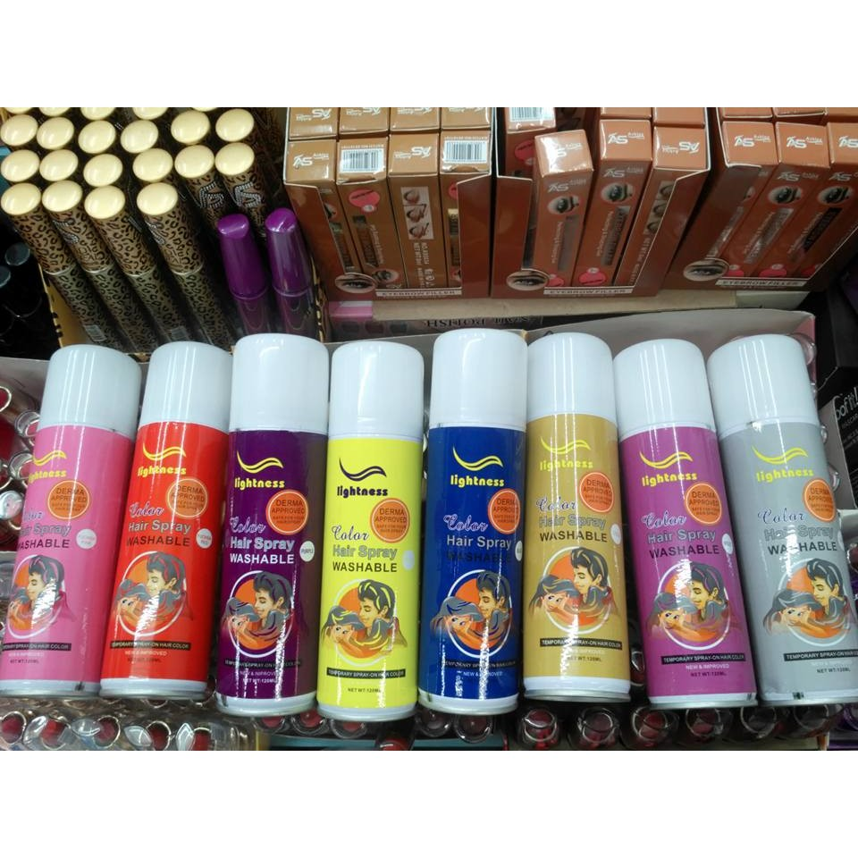 Washable Hair Color Spray Shopee Philippines