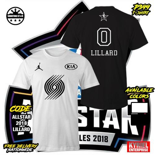 best sneakers 5f39c fd558 NBA All Star 2018 Damian Lillard 0 T-Shirt