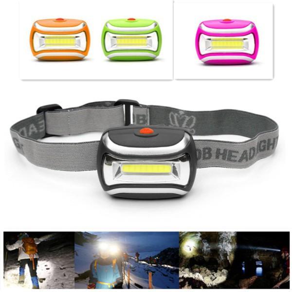 800LM 3W COB Headlight LED 3 Modes Headlamp Emergerncy Camping Torch Light Lamp