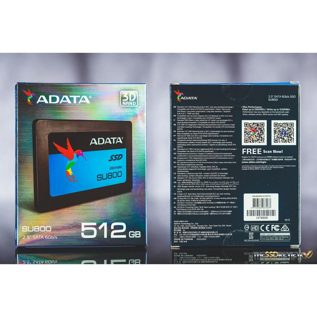 ADATA SU800 SSD 3D NAND 512GB BRAND NEW! SEALED! | Shopee Philippines
