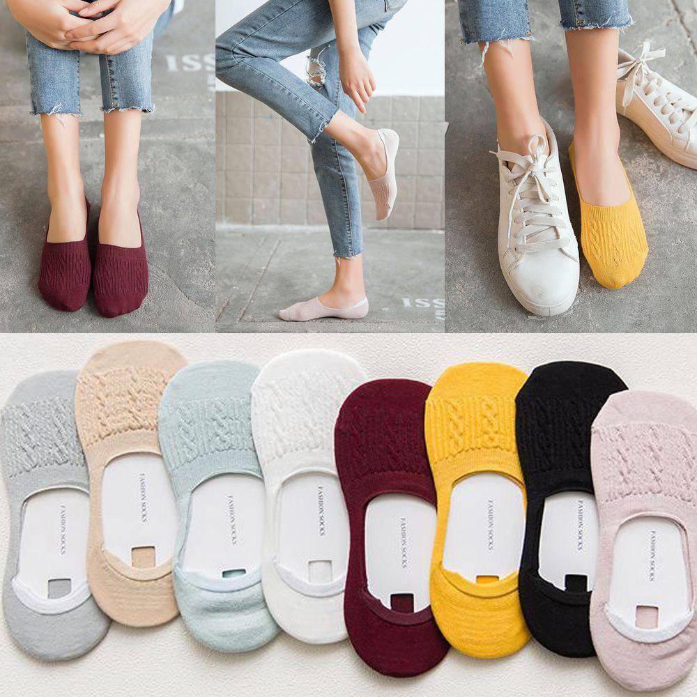 d076b434c9de7 ProductImage. ProductImage. Non-slip Invisible Boat Socks Cotton Ankle ...