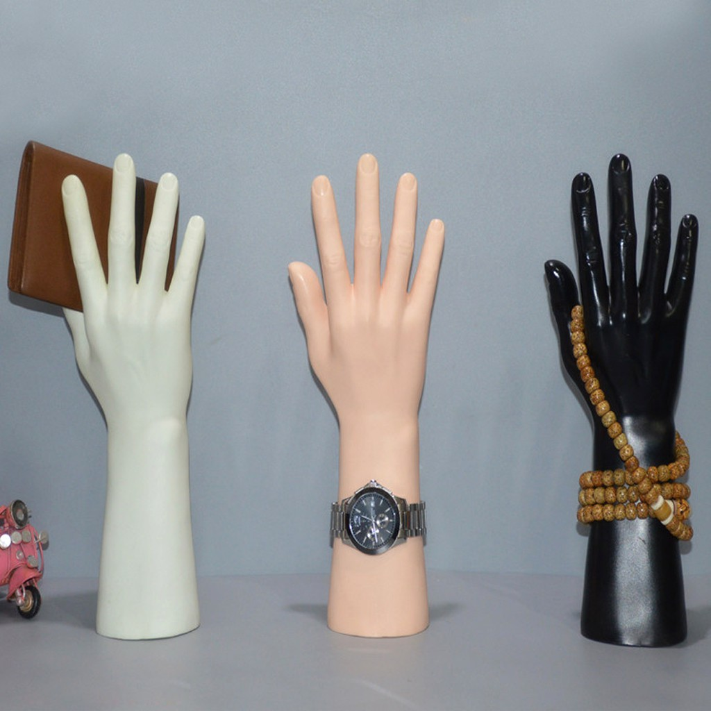 Mannequin Hand Display Jewelry Bracelet Necklace Chain Rings Glove Stand holder