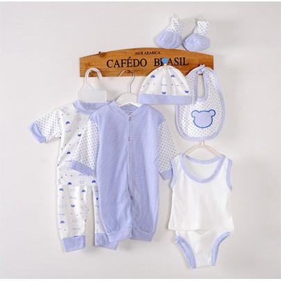 518e99140545b 8pcs/set Newborn Baby Clothing Set 0-3Month Boy/Girl Clothes ...