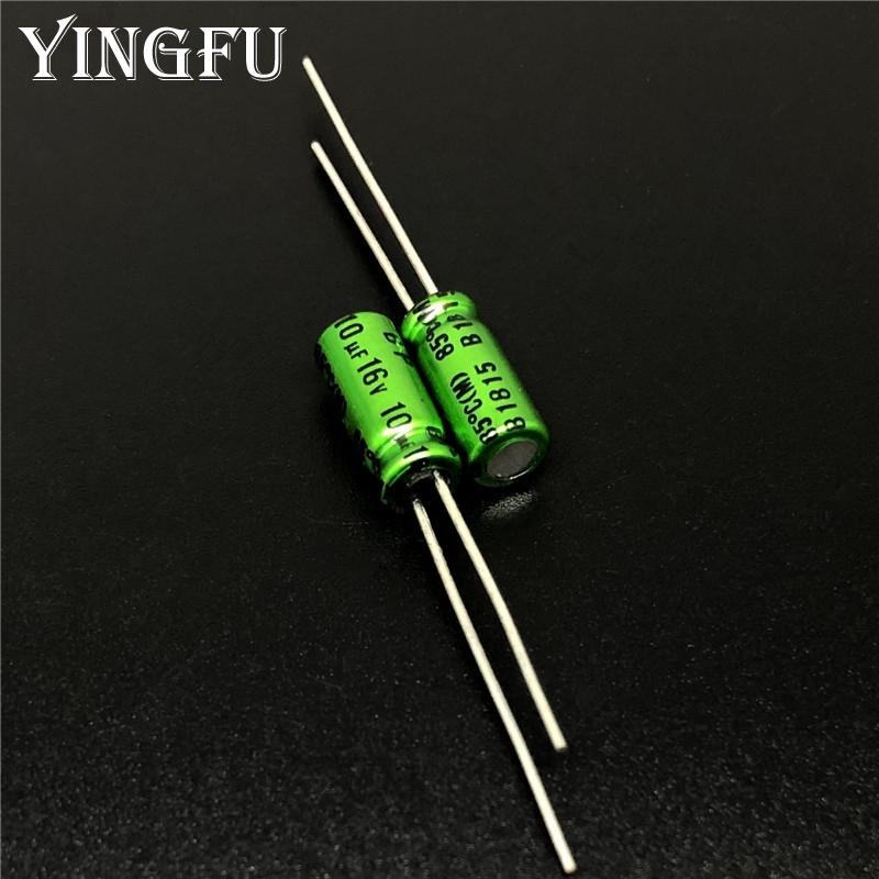 200pcs 16V10uf 16V Nichicon FG Muse capacitor 5x11mm FineGold for Audio