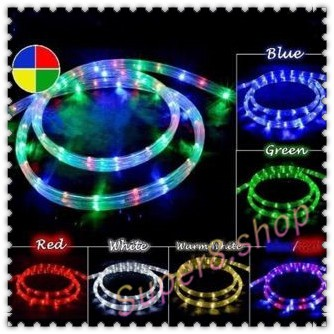 3pin 3way Outdoor Christmas Led Rope Light 8meters