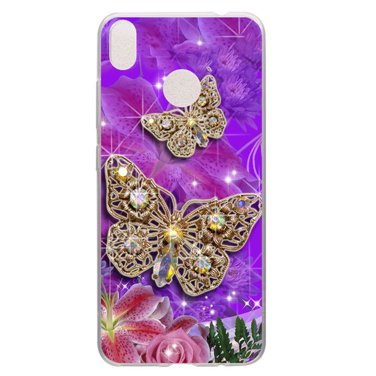For Infinix Hot S3 X573 Butterfly Soft Silicon Case