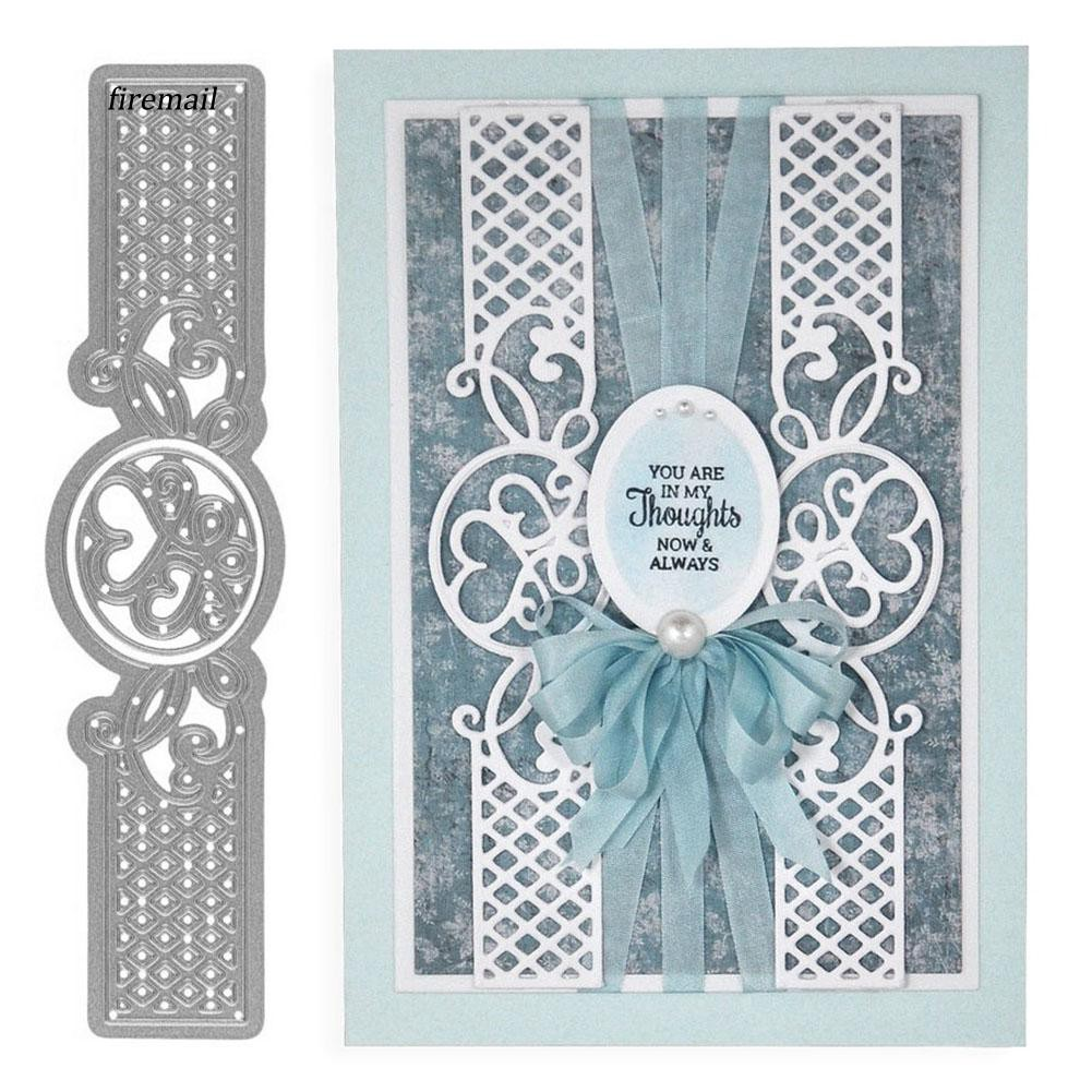 Cover Lace Design Metal Cutting Die For DIY Scrapbooking Album Paper Card S/&K